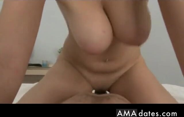 Hanging boobs, incredible busty amateur 2