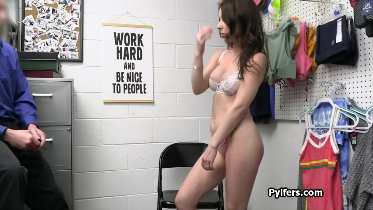She wanted to get busted and fucked by the guard