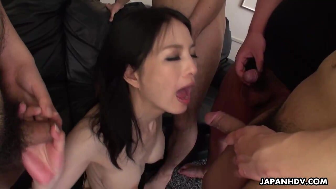 Miriya Hazuki is a dirty minded, Japanese woman who likes to get gangbanged until she gets exhausted