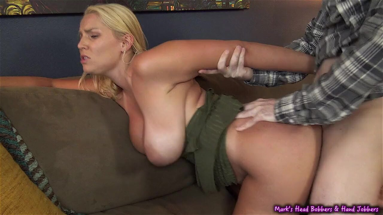 Busty Blonde Works Out A Deal For Rent - Big Busty Vanessa