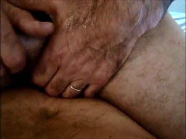 Gardener seat BB on my cock and CUM 3